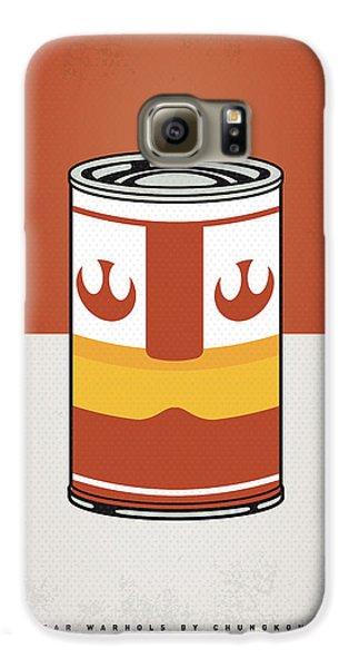 Tomato Galaxy S6 Case - My Star Warhols Luke Skywalker Minimal Can Poster by Chungkong Art