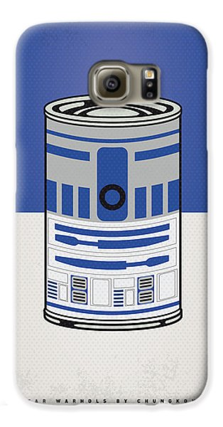 My Star Warhols R2d2 Minimal Can Poster Galaxy S6 Case by Chungkong Art