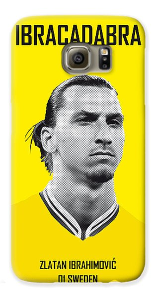 My Zlatan Soccer Legend Poster Galaxy S6 Case