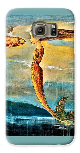 Extinct And Mythical Galaxy S6 Case - Mystic Mermaid IIi by Shijun Munns