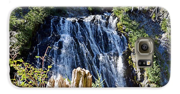 Galaxy S6 Case featuring the photograph Narada Falls by Anthony Baatz