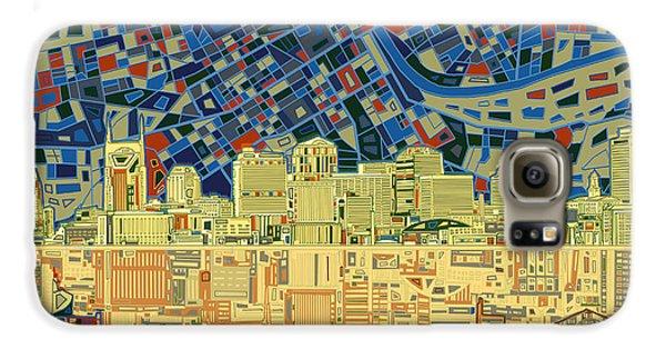 Nashville Skyline Abstract 9 Galaxy S6 Case