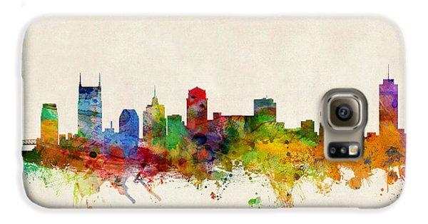 Nashville Tennessee Skyline Galaxy S6 Case by Michael Tompsett