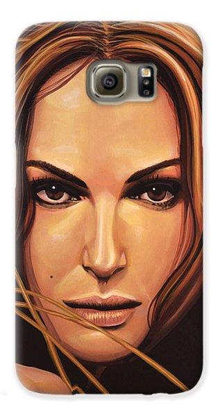 Swan Galaxy S6 Case - Natalie Portman by Paul Meijering
