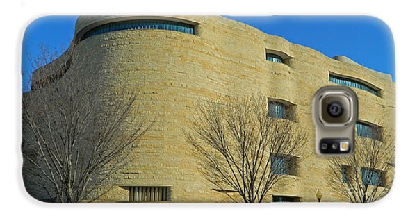 National Museum Of The American Indian Galaxy S6 Case by Emmy Marie Vickers