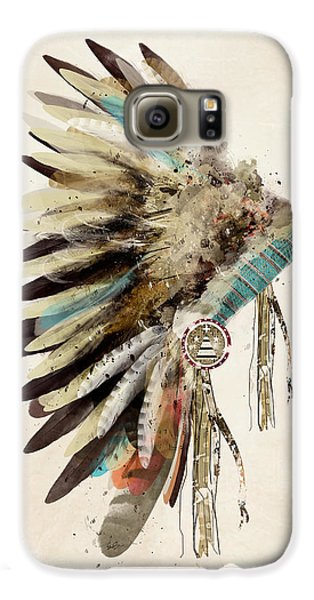 Native Headdress Galaxy S6 Case