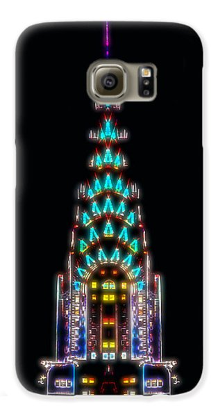 Neon Spires Galaxy S6 Case by Az Jackson