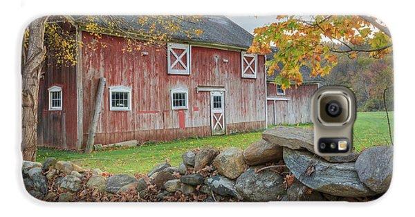 New England Barn Galaxy S6 Case