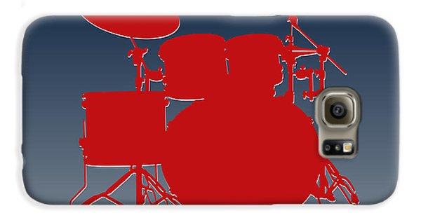 New England Patriots Drum Set Galaxy S6 Case by Joe Hamilton