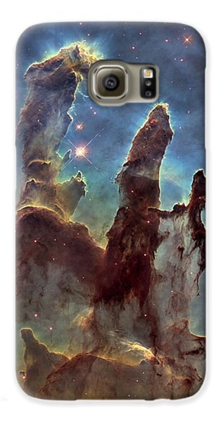 New Pillars Of Creation Hd Tall Galaxy S6 Case