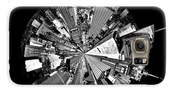 New York 2 Circagraph Galaxy S6 Case by Az Jackson