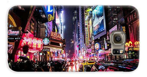 New York City Night Galaxy S6 Case