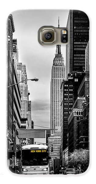 Empire State Building Galaxy S6 Case - New York Express by Az Jackson