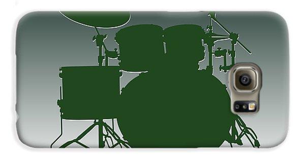 New York Jets Drum Set Galaxy S6 Case by Joe Hamilton