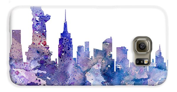 New York Galaxy S6 Case by Watercolor Girl