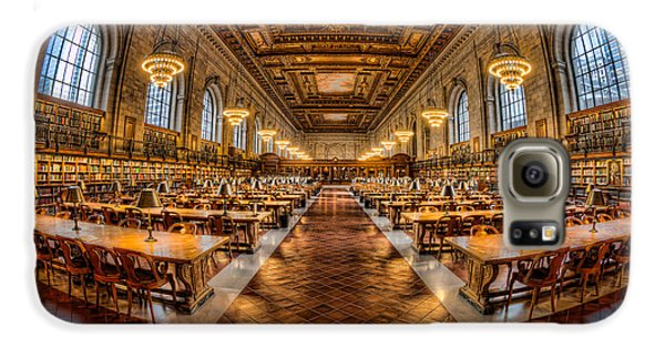 New York Public Library Main Reading Room Vii Galaxy S6 Case