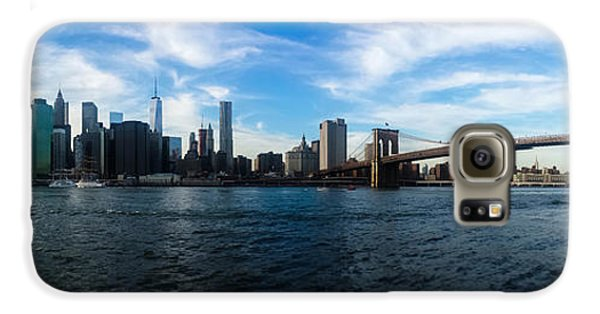 New York Skyline - Color Galaxy S6 Case by Nicklas Gustafsson