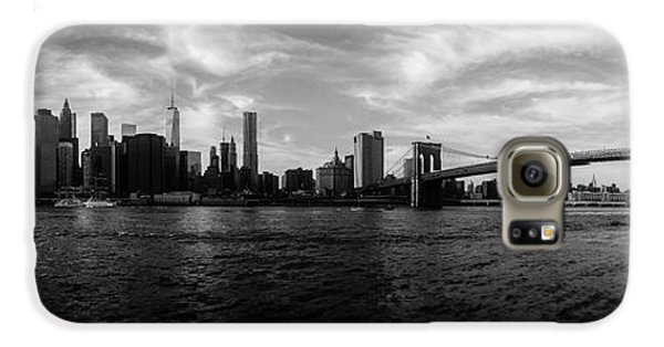 New York Skyline Galaxy S6 Case by Nicklas Gustafsson
