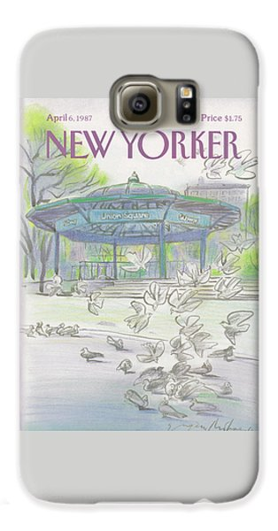 New Yorker April 6th, 1987 Galaxy S6 Case