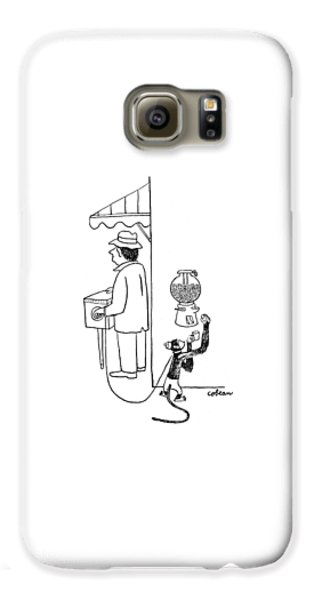 New Yorker August 26th, 1944 Galaxy S6 Case by Sam Cobean