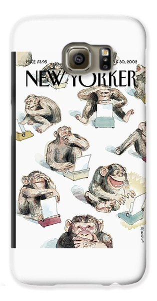 New Yorker December 23rd, 2002 Galaxy S6 Case