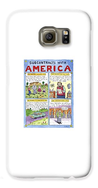 New Yorker January 16th, 1995 Galaxy S6 Case by Roz Chast