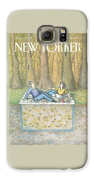 Ant Galaxy S6 Case - New Yorker June 15th, 1992 by John O'Brien