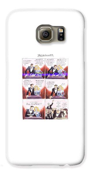 New Yorker March 24th, 1997 Galaxy S6 Case by Edward Sorel