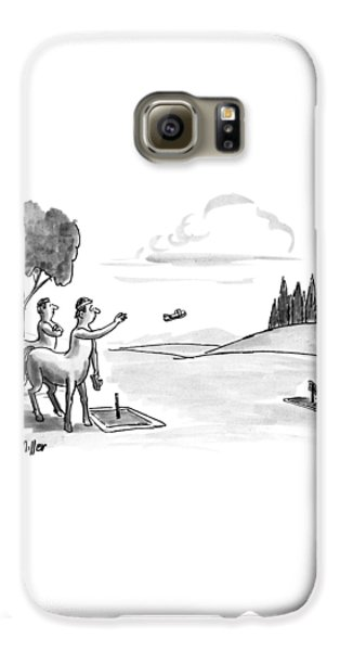 Centaur Galaxy S6 Case - New Yorker September 24th, 1990 by Warren Miller