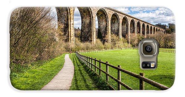 Landscapes Galaxy S6 Case - Newbridge Viaduct by Adrian Evans