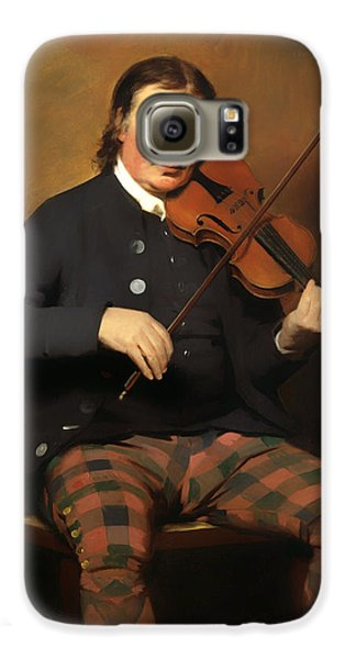 Violin Galaxy S6 Case - Niel Gow - Violinist And Composer by Mountain Dreams