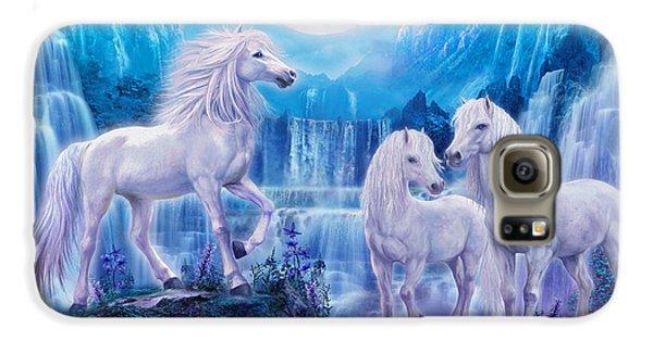Night Horses Galaxy S6 Case by Jan Patrik Krasny