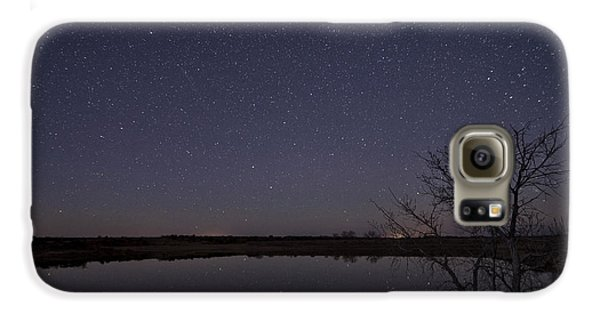 Night Sky Reflection Galaxy S6 Case