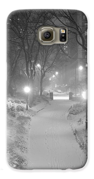 Galaxy S6 Case featuring the photograph Night Storm New York by Dave Beckerman
