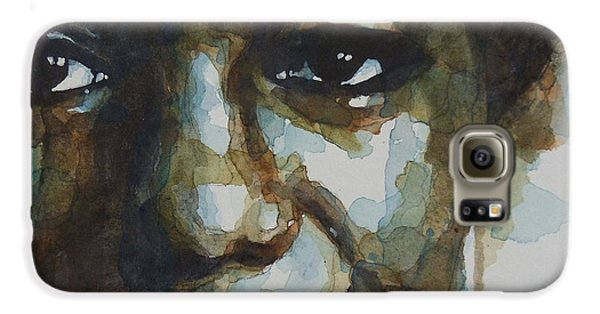 Jazz Galaxy S6 Case - Nina Simone Ain't Got No by Paul Lovering