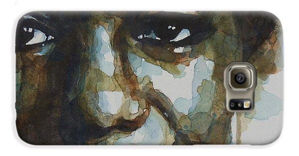 Musicians Galaxy S6 Case - Nina Simone Ain't Got No by Paul Lovering