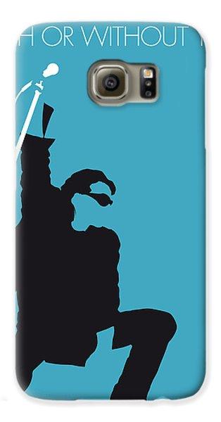 No035 My U2 Minimal Music Poster Galaxy S6 Case by Chungkong Art