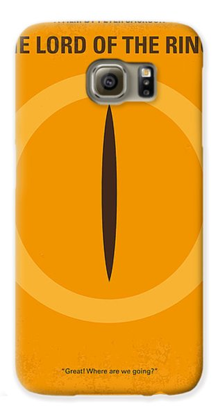 No039 My Lord Of The Rings Minimal Movie Poster Galaxy S6 Case