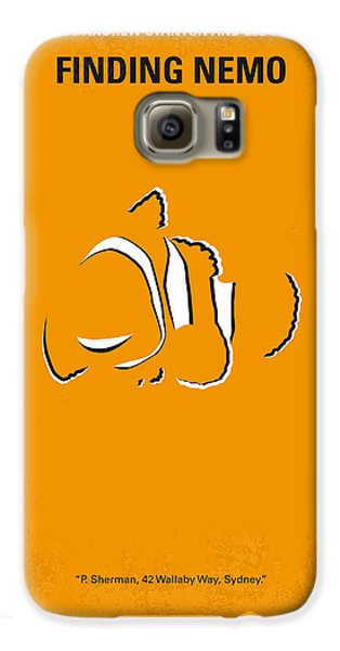 Fish Galaxy S6 Case - No054 My Nemo Minimal Movie Poster by Chungkong Art