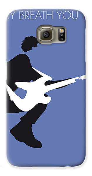 No058 My The Police Minimal Music Poster Galaxy S6 Case by Chungkong Art