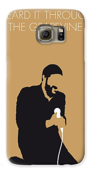 Knight Galaxy S6 Case - No060 My Marvin Gaye Minimal Music Poster by Chungkong Art
