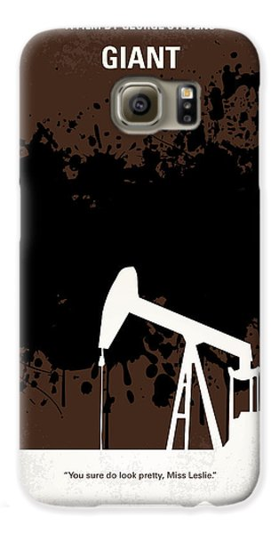No102 My Giant Minimal Movie Poster Galaxy S6 Case by Chungkong Art