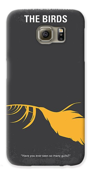 Seagull Galaxy S6 Case - No110 My Birds Movie Poster by Chungkong Art