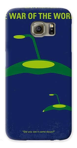 Aliens Galaxy S6 Case - No118 My War Of The Worlds Minimal Movie Poster by Chungkong Art