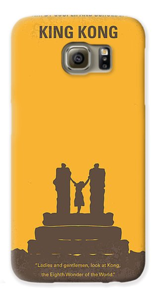 Ape Galaxy S6 Case - No133 My King Kong Minimal Movie Poster by Chungkong Art