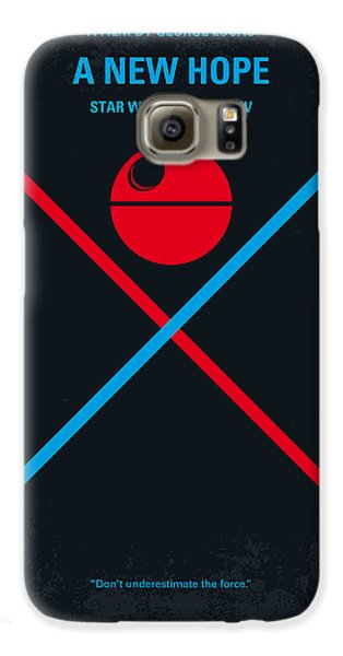Knight Galaxy S6 Case - No154 My Star Wars Episode Iv A New Hope Minimal Movie Poster by Chungkong Art