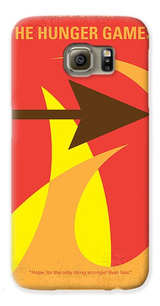 Apple Galaxy S6 Case - No175 My Hunger Games Minimal Movie Poster by Chungkong Art