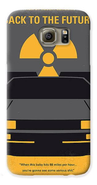 No183 My Back To The Future Minimal Movie Poster Galaxy S6 Case