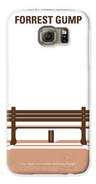 No193 My Forrest Gump Minimal Movie Poster Galaxy S6 Case by Chungkong Art