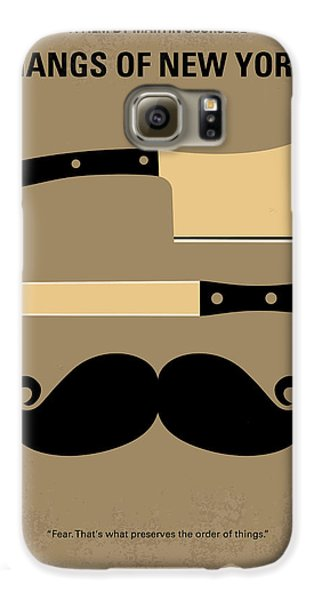 No195 My Gangs Of New York Minimal Movie Poster Galaxy S6 Case